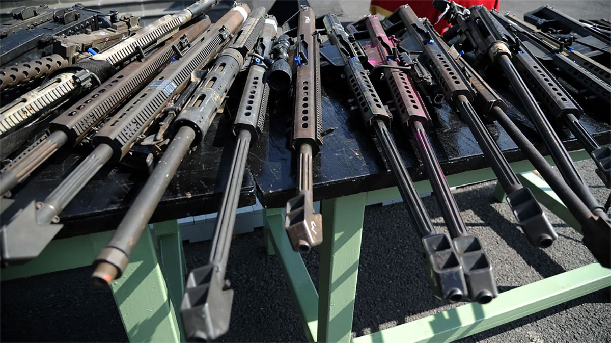 Mexico sues U.S. gunmakers, arguing they have fueled bloodshed
